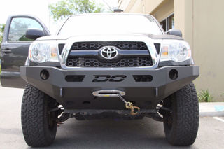Picture of DEMELLO OFF-ROAD TACOMA FLAT TOP FRONT BUMPER 05-11