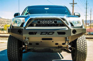 Picture of DEMELLO OFF-ROAD TACOMA SINGLE HOOP FRONT BUMPER 12-15