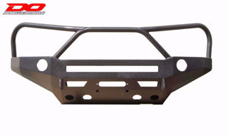 Picture of DEMELLO OFF-ROAD STEALTH SERIES LIGHT BAR TACOMA 3 HOOP FRONT BUMPER 05-11