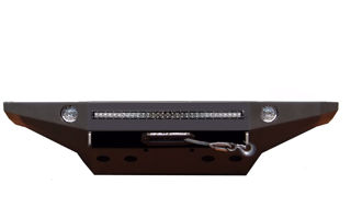 Picture of ALUMINUM 2006-2009 STEALTH SERIES FLAT TOP BUMPER