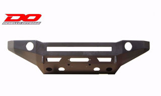 Picture of ALUMINUM TACOMA FLAT TOP STEALTH SERIES FRONT BUMPER 05-11
