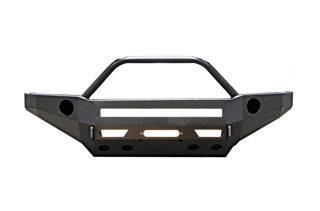 Picture of ALUMINUM TACOMA SINGLE HOOP STEALTH SERIES FRONT BUMPER 05-11