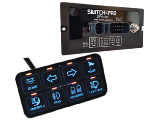 Picture of SP-9100 SWITCH PANEL POWER SYSTEM